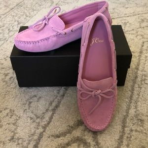 J. Crew Suede Diving Moc Loafer - New w/Box